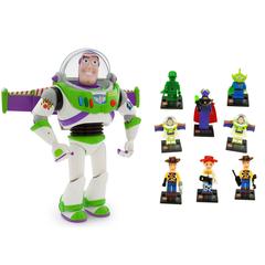 Баз Лайтер говорящий 30 см и набор 8 минифигурок История игрушек
