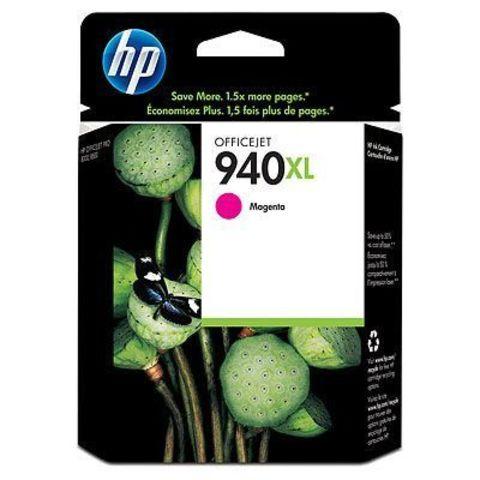Картридж HP C4908AE (№940XL) для HP OfficeJet Pro 8000/8500 (пурпурный повышенной емкости, 1400 стр., 16 мл.)