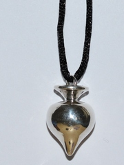 Пика (кулон из серебра)