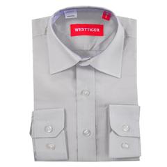 66-7 рубашка для мальчиков, серая