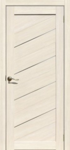 > Экошпон La Stella 215, стекло матовое, цвет ясень снежный, остекленная