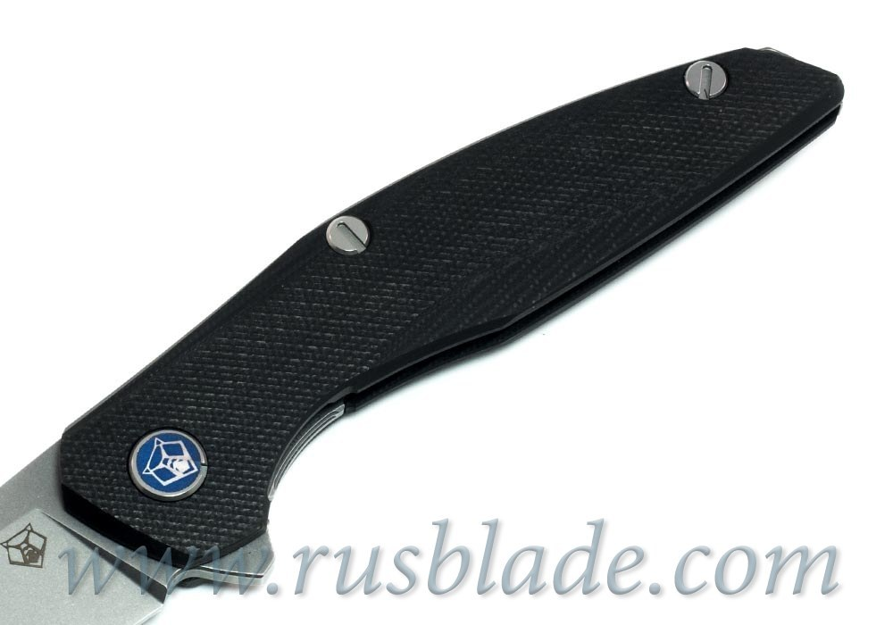 Shirogorov 111 S30V G10 black 3D MRBS