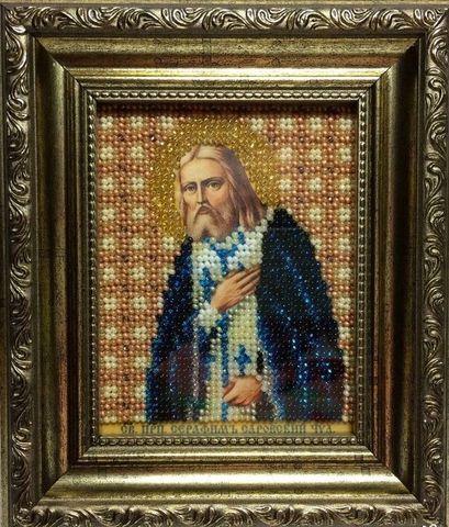 Б-1174  Икона преподобного Серафима Саровского