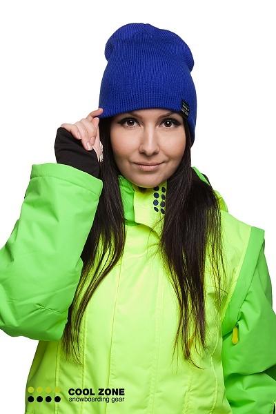 Горнолыжная шапка Cool Zone синий