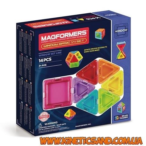 Magformers Базовый Супер 3Д набор, 14 элементов