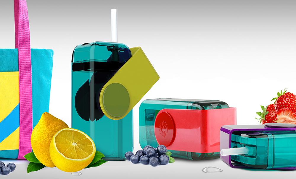 Мини-бокс для сока Asobu Juicy box (0,29 литра) зеленый*