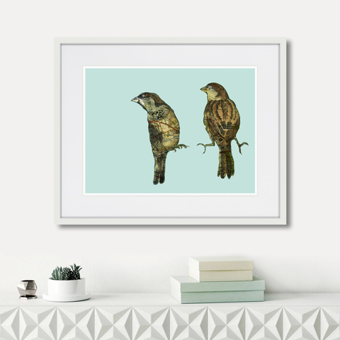 Дженни Капон - Waltz birds №9