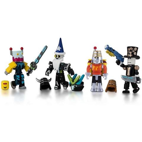 Набор фигурок Роблокс Роботы Бунтари - Roblox Mix & Match Robot Riot, Jazwares