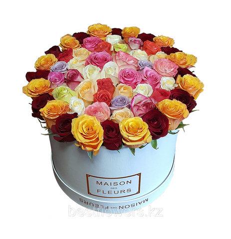 Коробка Maison Des Fleurs Разноцветная