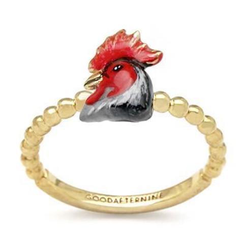 Мини-кольцо Петух