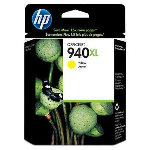 Картридж HP C4909AE (№940XL) для HP OfficeJet Pro 8000/8500 (желтый повышенной емкости, 1400 стр., 16 мл.)