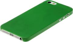 Чехол пластиковый для iPhone 5 / 5S ENSI накладка ЗЕЛЕНЫЙ