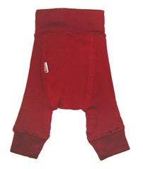 Пеленальные штанишки  длинные Babyidea Wool Longies, Бордовый (шерсть мериноса 100%)