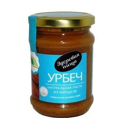 Урбеч-паста, Биопродукты, натуральная, из миндаля, 280 г