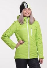 Утеплённая прогулочная лыжная куртка Nordski Active  Lime-Black женская