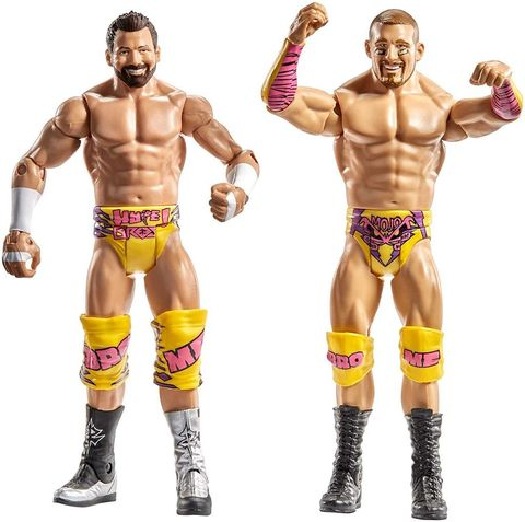 Набор рестлеров Моджо Роули и Зак Райдер - Wrestling WWE, Mattel