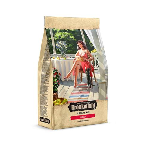 Сухой корм Brooksfield Low Grain Adult Cat Indoor Turkey