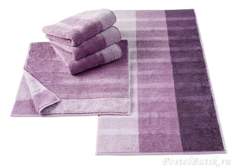 Полотенце 80х150 Cawo Noblesse 1055 Shades фиолетовое