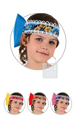 Фото Коляда головной убор - бант рисунок Рубаха под сарафан удлиненная базовая деталь для большей части народных сарафанов. Изделие изготовлено из креп-сатина, рукава-фонарики и горловина украшены кружевом.