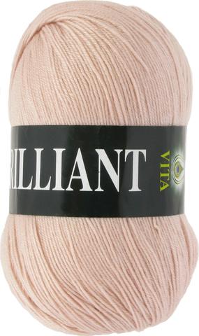 Пряжа Vita Brilliant чайная роза 4987