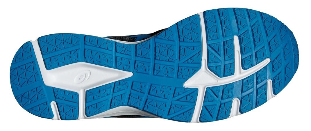 Мужские беговые кроссовки Asics Patriot 8 (T619N 5843) темно-синие - фото, описание, технологии