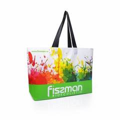 528 FISSMAN Промо-сумка 50x12x40см с логотипом, цвет Зеленый