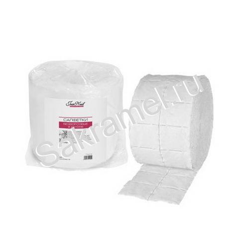 Салфетки безворсовые 500 шт/рулон