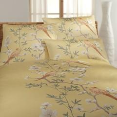 Элитная наволочка Fasan золотая от Elegante