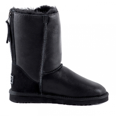 UGG Zip Metallic Black