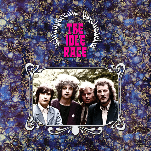 The Idle Race / Schizophrenic Psychedelia (Limited Edition)(Clear Vinyl)(LP)