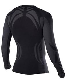 Мужская терморубашка без воротника One Way Skinlife (OWW0000485) черный