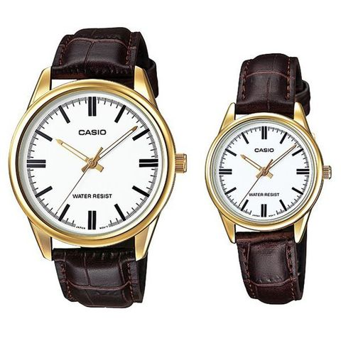 Купить Парные часы Casio Standard: MTP-V005GL-7AUDF и LTP-V005GL-7AUDF по доступной цене