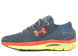 Кроссовки Мужские Under Armour SpeedForm Gemini Grey Orange Lt Green