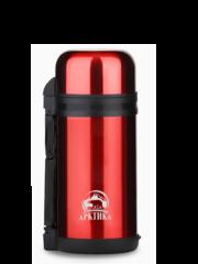 Термос «Арктика» вакуумный, универсальный, красный 1200 мл