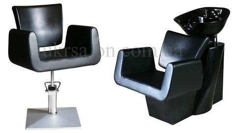 Комплект парикмахерской мебели Cube