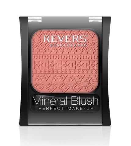 REVERS Румяна 7,5г MINERAL BLUSH Perfect make-up №03 (*3)