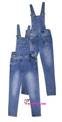 570 комбинезон джинсовый классика