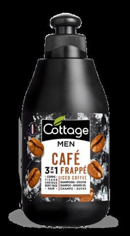 Шампунь для волос и гель для душа для мужчин Cottage Men's Shampoo-Shower Gel  Iced Coffee