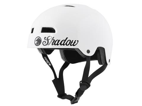 Шлем Shadow Classic белый глянцевый