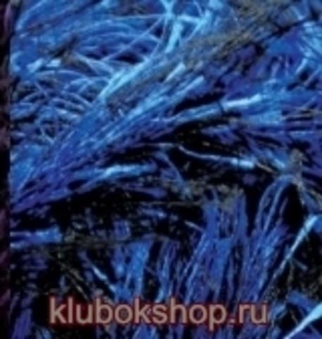 Пряжа Decofur (Alize) 1379 Черный василек