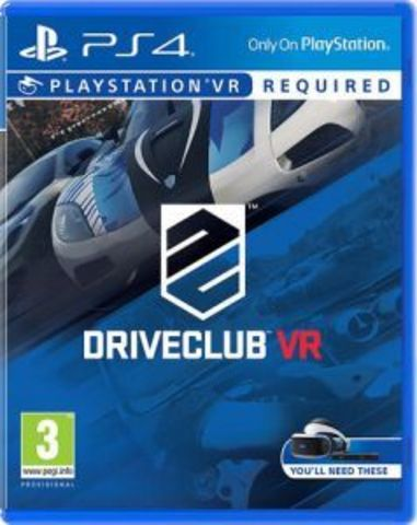 Sony PS4 Driveclub VR (только для VR, русская версия)