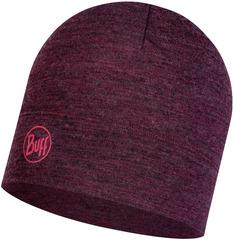 Шерстяная шапка Buff Hat Wool Midweight Dahlia Melange