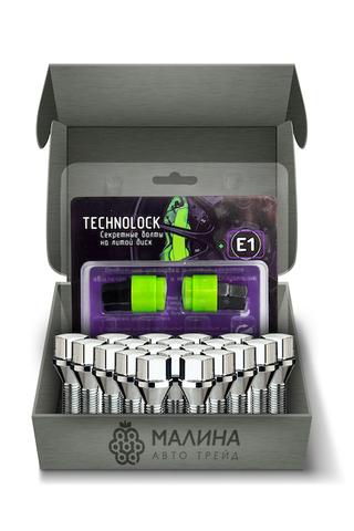 Готовый набор из колёсных болтов М12x1.25 и комплекта секреткок TECHNOLOCK E1