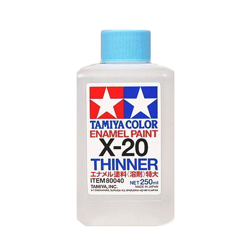 X-20 Tamiya Растворитель для Эмалей (Enamel Thinner) 250мл