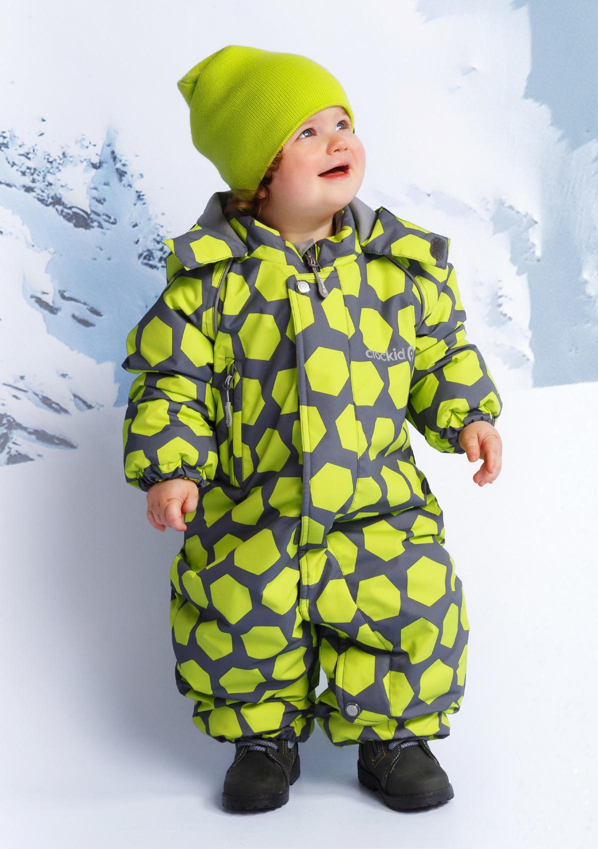 7809b7c695c87ee Детский зимний комбинезон Crockid, желтый - купить в интернет ...