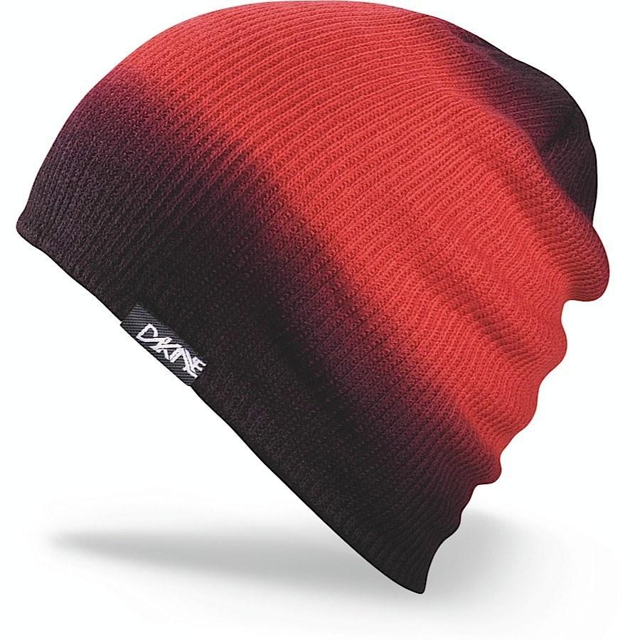 Длинные шапки Шапка-бини вязаная Dakine Faded Red 17.jpg