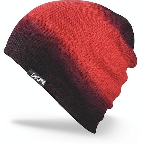 Шапка-бини вязаная Dakine Faded Red