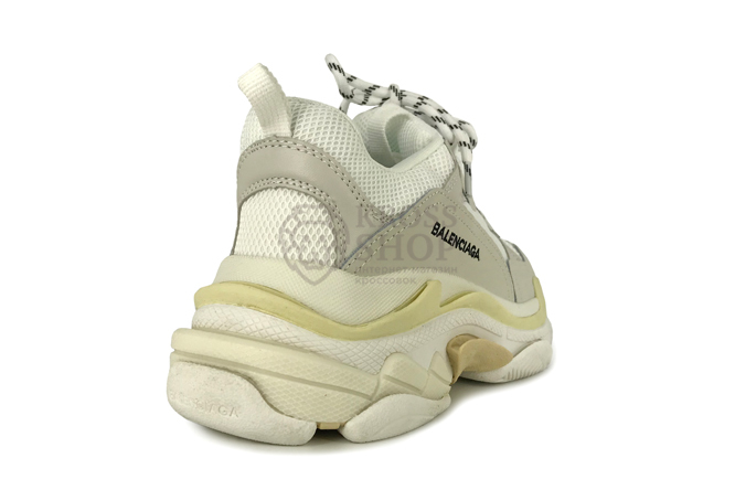 Balenciaga Men's Triple S White