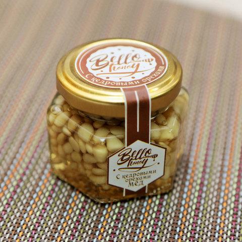 Медовик кедровые орешки в меду 100 мл