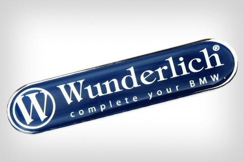 Wunderlich Наклейка логотип 90mm*21mm